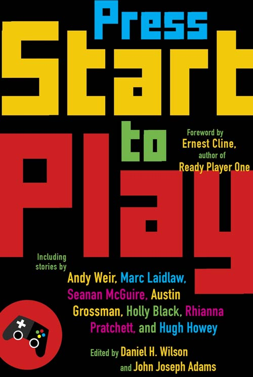 Press Start to Play - book cover