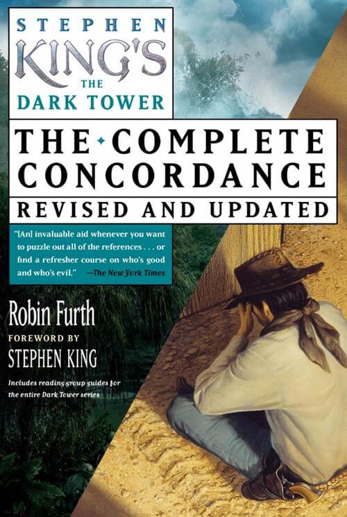 Stephen King's The Dark Tower: The Complete Concordance - book cover