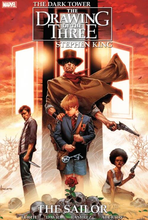 The Dark Tower: The Drawing of the Three comic cover