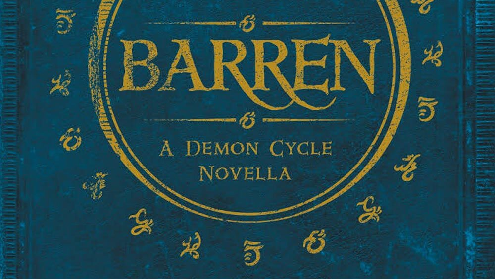Barren - book cover
