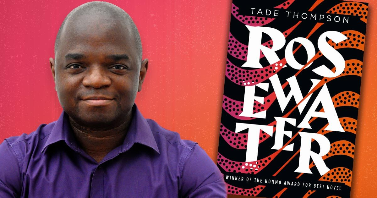 """Tade Thompson, author of """"Rosewater"""""""