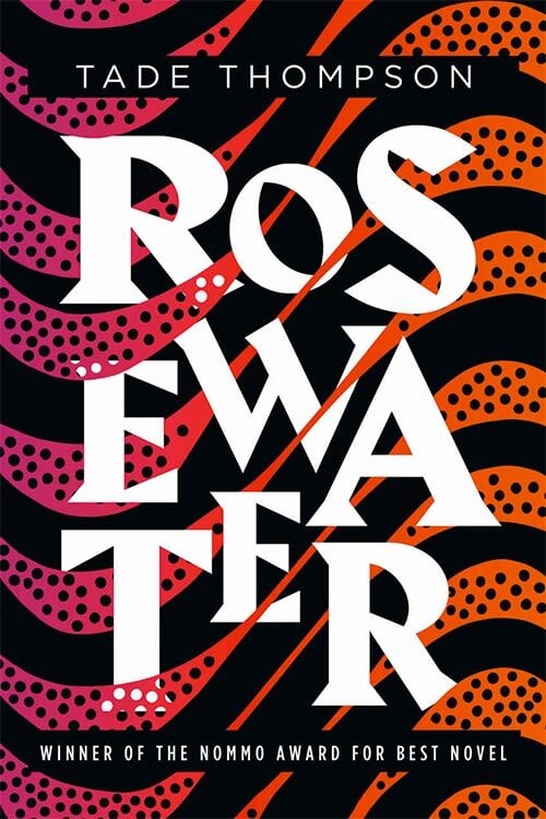 Book Cover - Rosewater