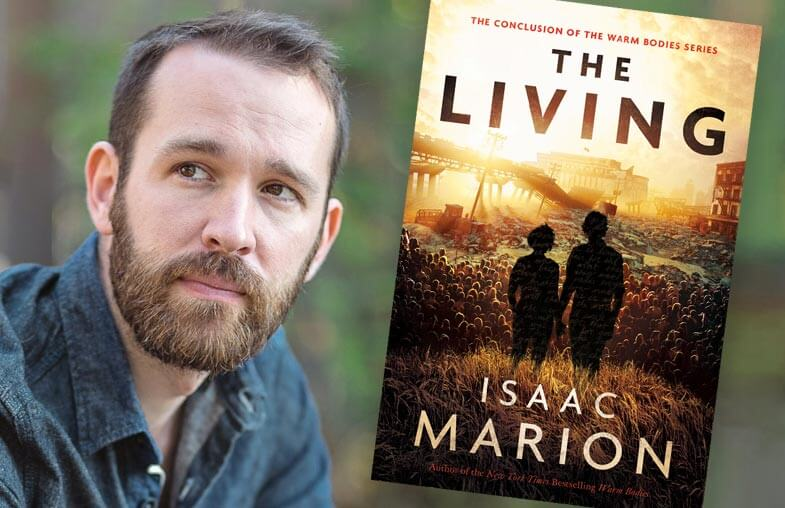 Isaac Marion, author of The Living