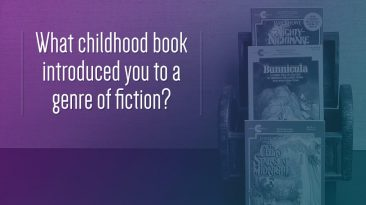 What childhood book introduced you to genre fiction?