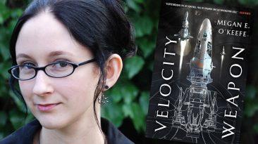 Megan E. O'Keefe, author of Velocity Weapon