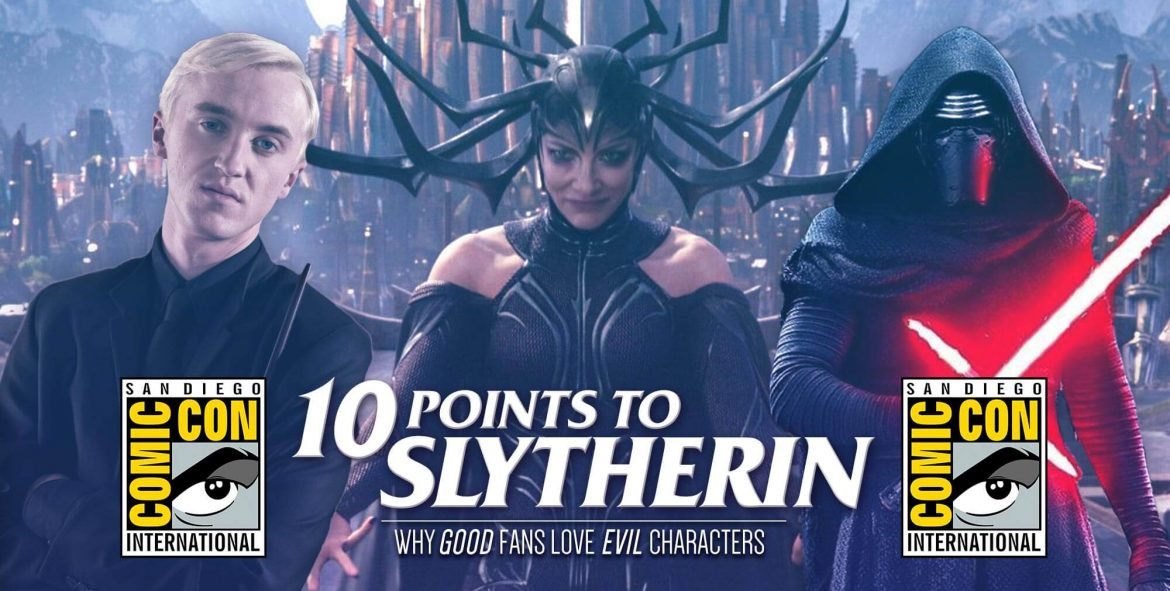 10 Points to Slytherin at San Diego Comic-Con 2019