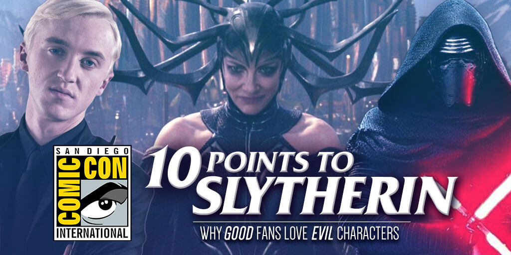 San Diego Comic-Con Panel: 10 Points to Slytherin