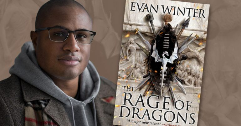 Facebook: Evan Winter, The Rage of Dragons author