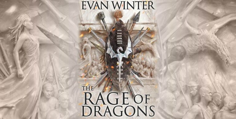 Evan Winter, The Rage of Dragons author