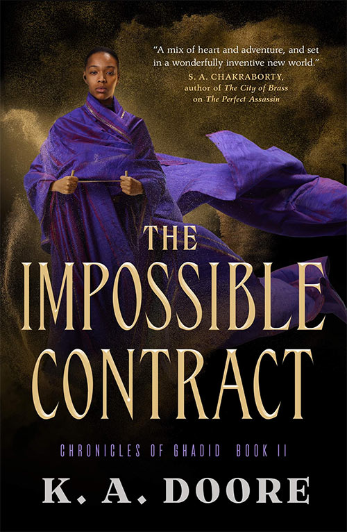 The Impossible Contract by K. A. Doore