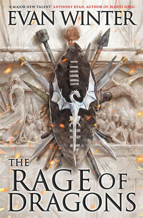 The Rage of Dragons by Evan Winter / Book Cover