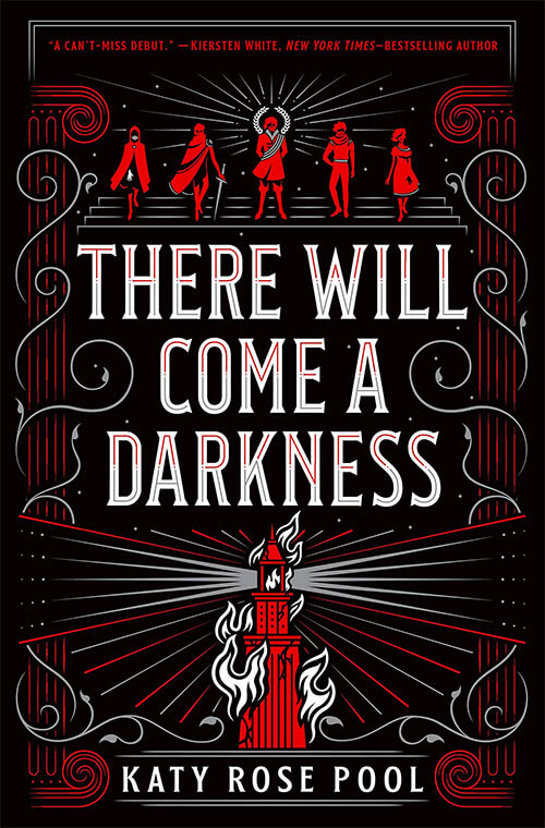 Book Cover: There Will Come a Darkness by Katy Rose Pool