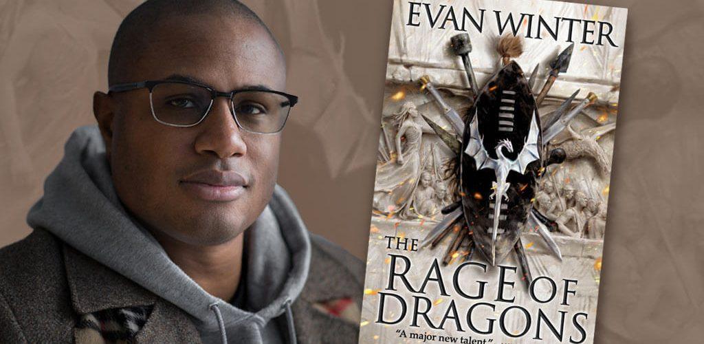 Evan Winter, The Rage of Dragons author