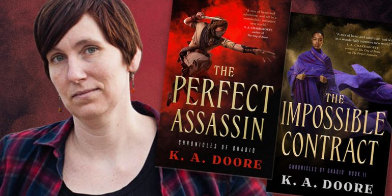 K. A. Doore –The Perfect Assassin and The Impossible Contract