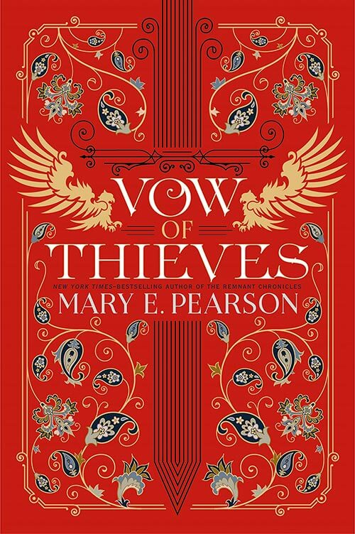 Book cover: Vow of Thieves by Mary E. Pearson