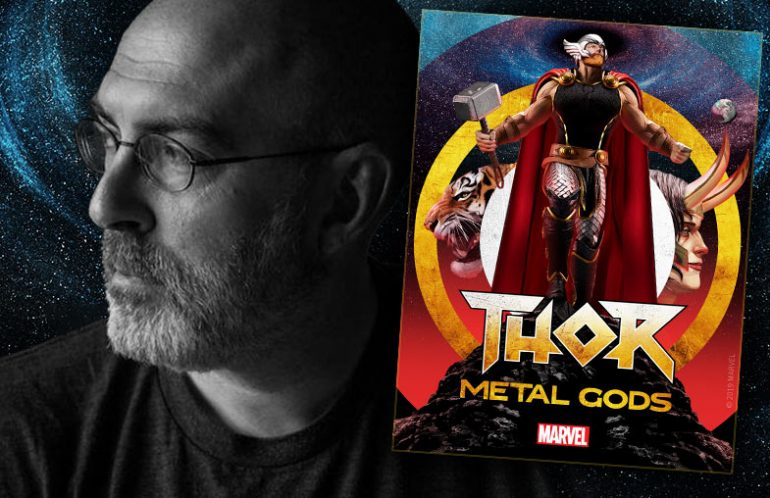 Brian Keene – a writer on THOR: METAL GODS from Serial Box and Marvel