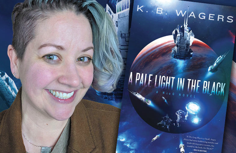 K.B. Wagers —A Pale Light in the Black