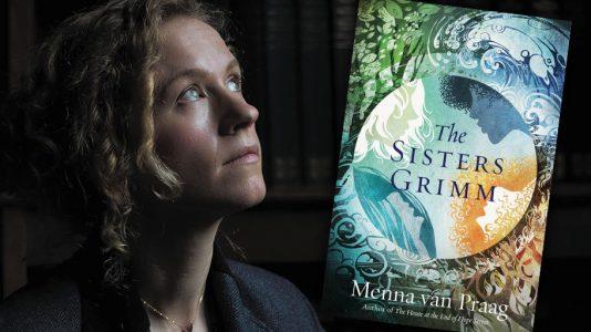 Menna van Praag, THE SISTERS GRIMM author