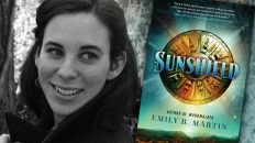 Emily B. Martin, author of SUNSHIELD