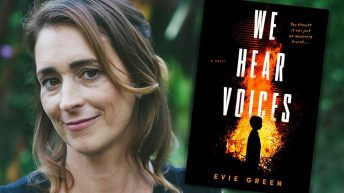 Evie Green, WE HEAR VOICES author