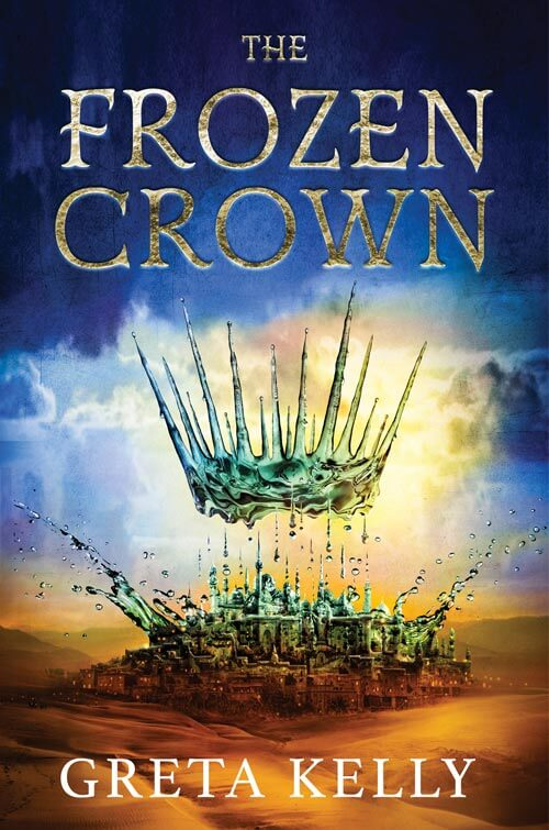THE FROZEN CROWN by Greta Kelly (Book Cover)