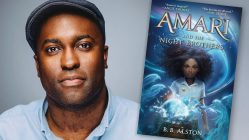 B.B. Alston, author of AMARI AND THE NIGHT BROTHERS middle grade fantasy novel