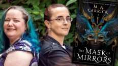 M.A. Carrick, THE MASK OF MIRRORS author (co-writing team of Marie Brennan and Alyc Helms)