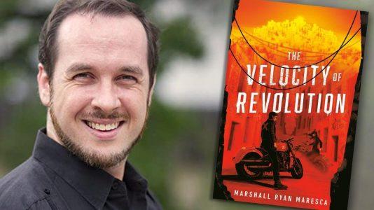 Marshall Ryan Maresca, THE VELOCITY OF REVOLUTION author