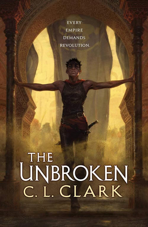 THE UNBROKEN by C. L. Clark (book cover)
