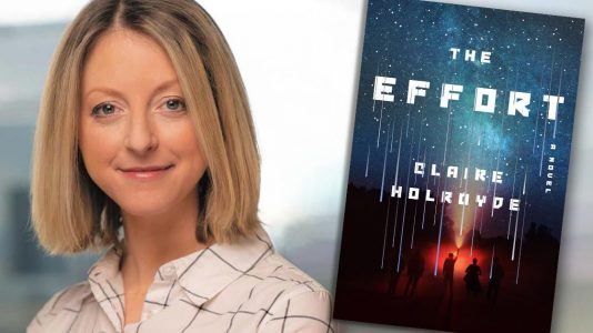 Claire Holroyde — THE EFFORT author | Fictitious author interview on YouTube and podcast