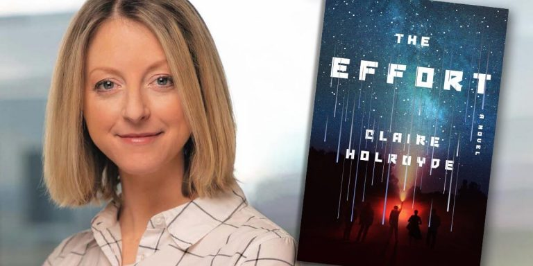 Claire Holroyde —THE EFFORT author | Fictitious author interview on YouTube and podcast