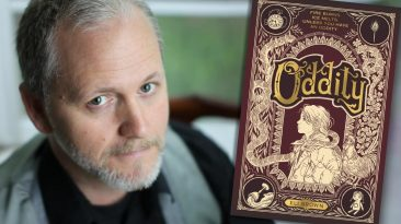 Eli Brown, ODDITY author — Fictitious writer interview