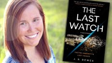 J.S. Dewes, THE LAST WATCH author — Fictitious author interview