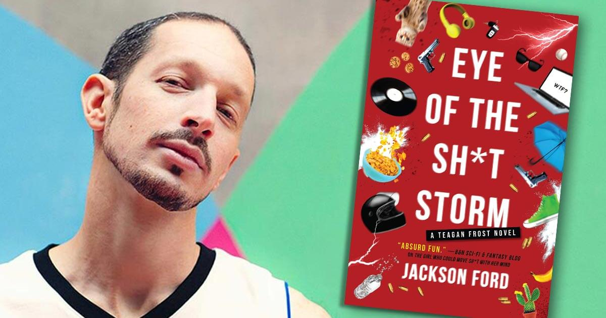 Jackson Ford, author of EYE OF THE SH*T STORM, book 3 in the Frost Files series from Orbit Books