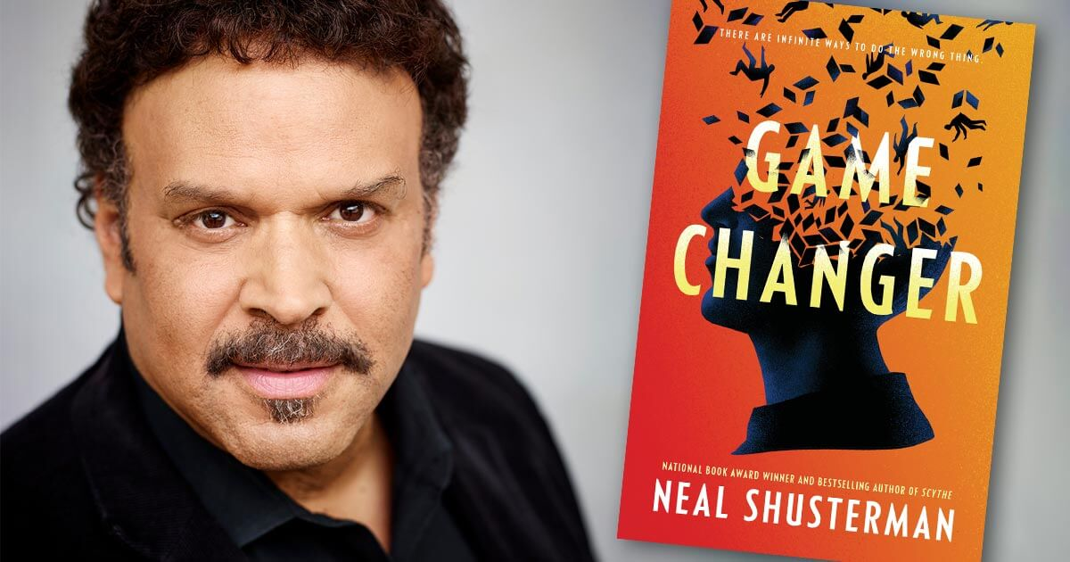 Neal Shusterman, GAME CHANGER Fictitious author interview