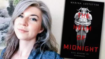 Marina Lostetter, THE HELM OF MIDNIGHT author - Fictitious writer interview