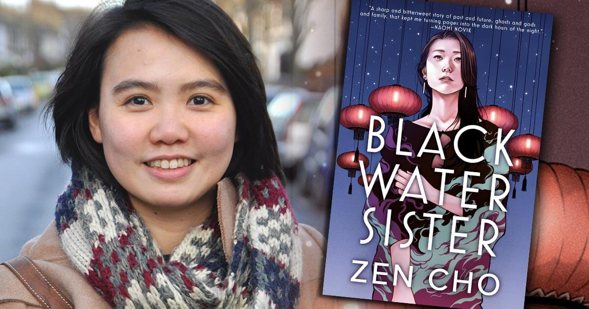 Zen Cho, author of BLACK WATER SISTER —Fictitious author interview